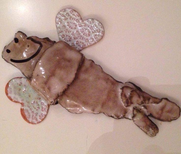 A.Matusik-ceramiczny aniołek mojej córki:)