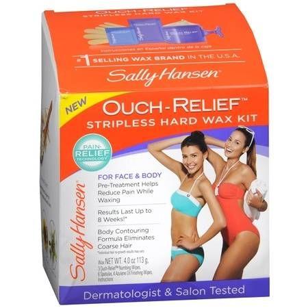 Sally Hansen Ouch Relief Stripless Wax Kit - 0.75 oz.
