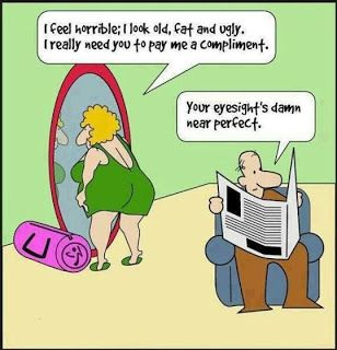 Perfect Eyesight Marriage Joke