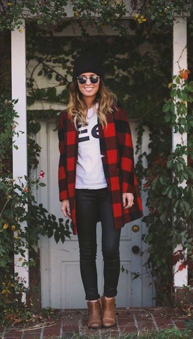 really like that style of jacket - would be great in a neutral solid or a tartan plaid too :)   #fall #fashion / plaid