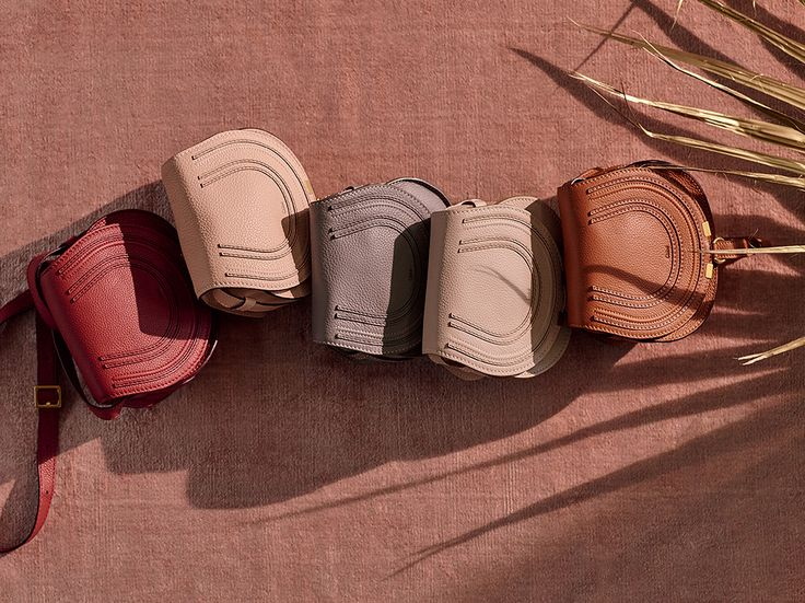 The the festive line-up – fall in love with the earthy colour palette of our mini Marcie saddle bag
