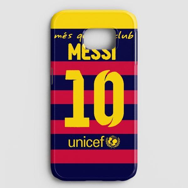 Lionel Messi Fc Barcelona Jersey Samsung Galaxy Note 8 Case