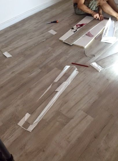 17 best images about gerflor diy on pinterest vinyl planks plan de trava - Lames vinyles adhesives ...