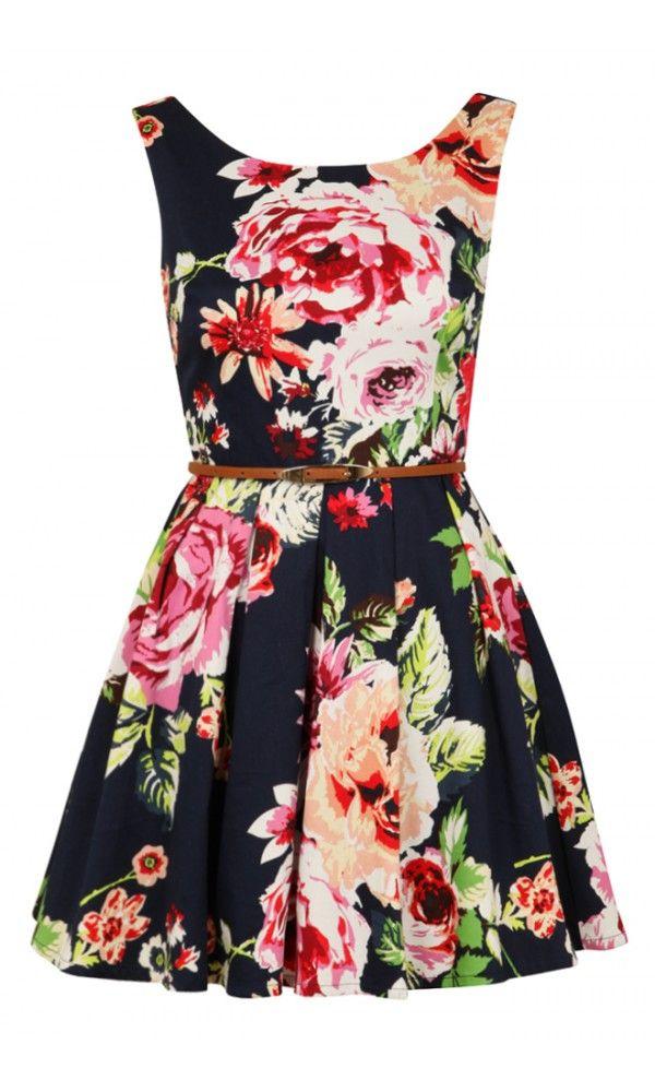 Louche Elli Flower Dress - cute for a garden wedding