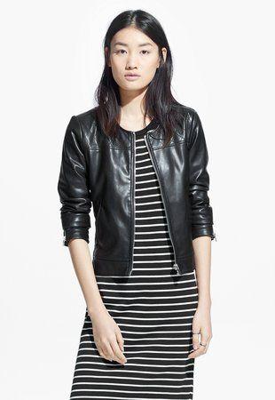 Xianna Fekete Kabát