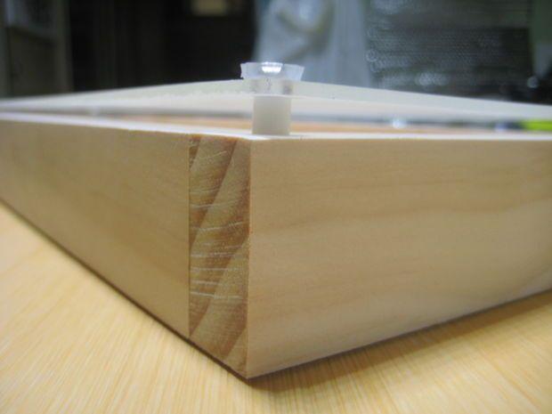 Making a Light Box Version 2 Plexiglass FramesWood