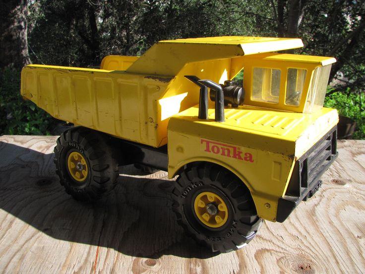 Vintage 1970's Tonka Mighty Dump Truck - XMB-975 | eBay