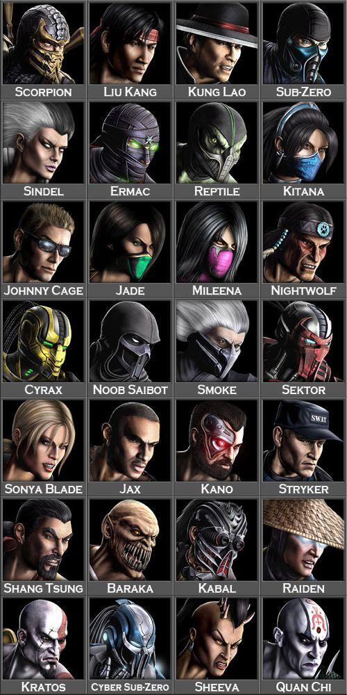Mortal Kombat characters #mortalkombat #cosplayclass #gaming