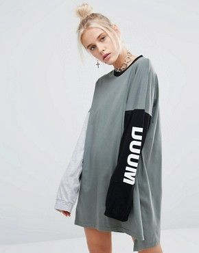 The Ragged Priest Doom And Gloom Long Sleeve Raglan Dress