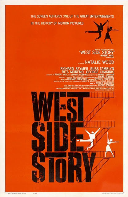 Saul Bass West Side Story Poster