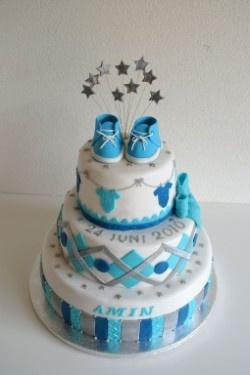 Geboorte taarten