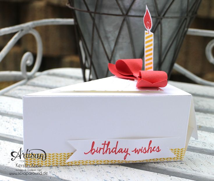 a filled Cutie Pie is a great gift for a birthday, simple lovely - Kerstin Kreis