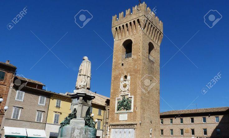 http://www.123rf.com/photo_55553673_civic-tower-recanati-marche-italy.html