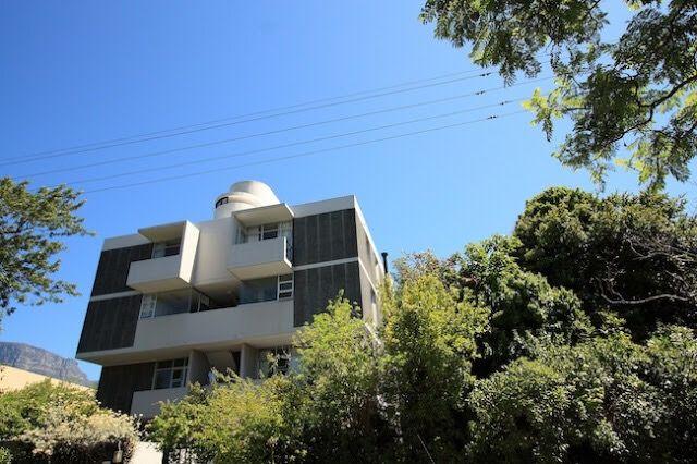 5 Scott Road Condominiums, Cape Town, 1968-70, A+A de Souza Santos Architects. Up view of South façade.