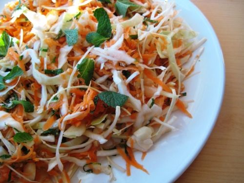Cabbage And Carrot – Vitamin Salad