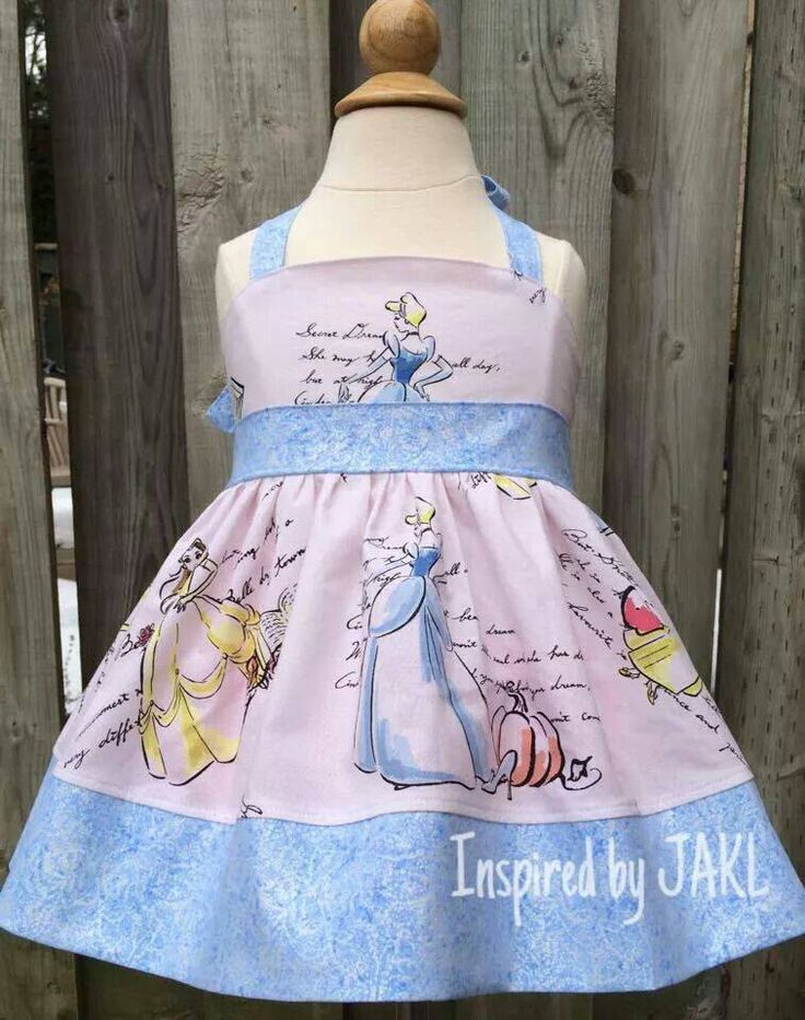 A personal favorite from my Etsy shop https://www.etsy.com/listing/226513711/girls-3t-princess-halter-top-fashionable