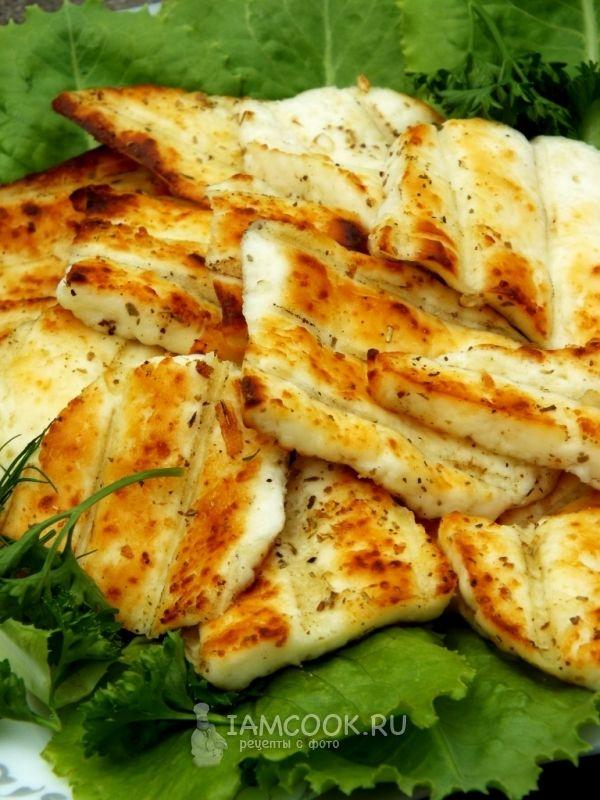 Рецепт адыгейского сыра на гриле
