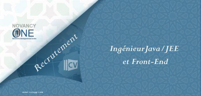 #Novancy_One: #Recrutement d'un #Ingénieur #Etude et #développement #Java / #JEE et #Front_End---->