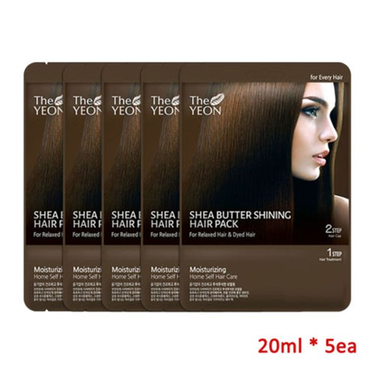 THE YEON Shea Butter Shining Hair Pack Hair Mask keratine Hair Care Treatment Hair Coarse Dry Split Ends repair damaged hair //Price: $US $19.49 & FREE Shipping //     #woman