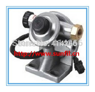 Diesel engine R90-mer-01 R60 R120 heater fuel water separator filter cover pump head,FREE SHIPPING