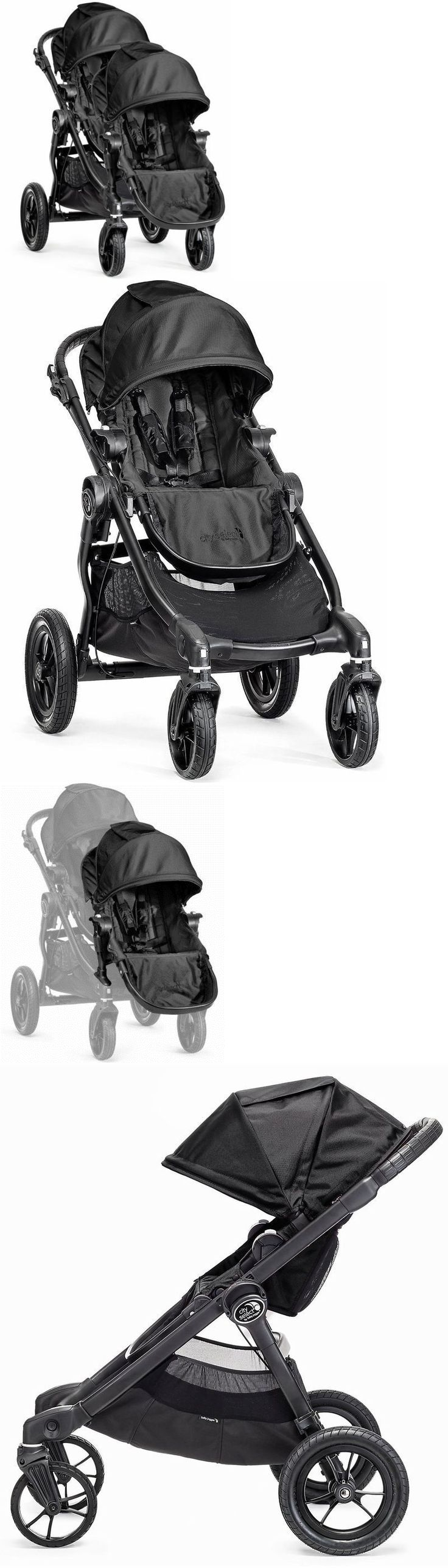 Other Baby Gear 100224: Baby Jogger City Select Twin Tandem Double Stroller Black With Second Seat New -> BUY IT NOW ONLY: $569.98 on eBay!
