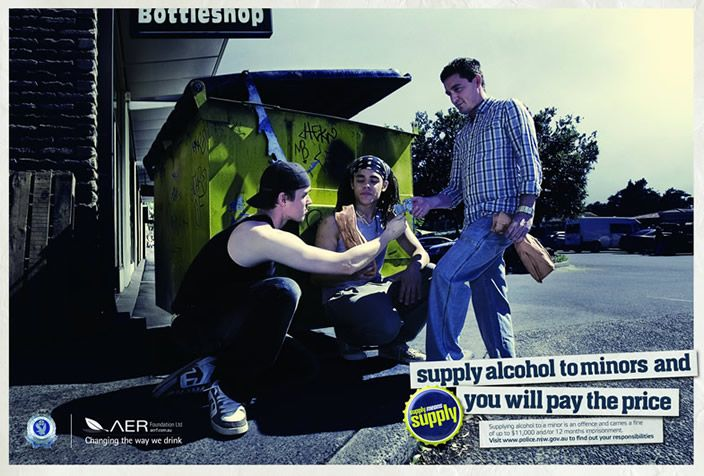 Supply Means Supply - find out about the law regarding supplying minors with alcohol in NSW. From NSW Police.