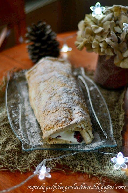 mijn dagelijkse gedachten: Cranberry-Raspberry Meringue Cake / Клюквенно-Малиновый Торт Безе