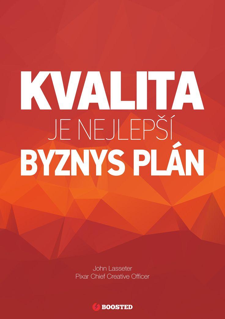 Motivační plakát Kvalita (Česky)
