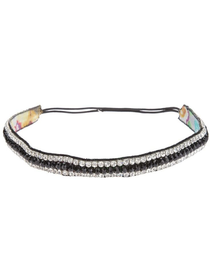 DEEPA GURNANI gem embellished head band