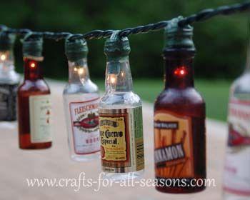 DIY - patio party lights