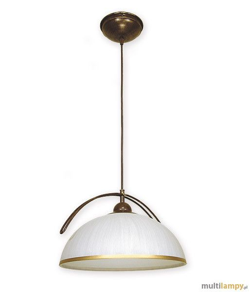LEMIR Flex lampa wisząca 1-punktowa O1487 BR - Multilampy.pl