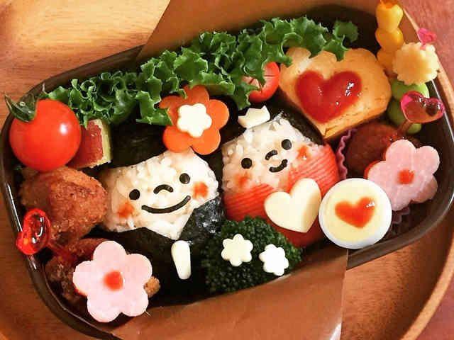 簡単♡可愛い♡ひな祭り弁当♡キャラ弁☆の画像