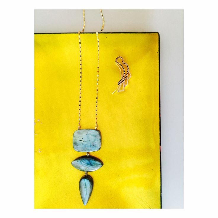 #Weekends start with #Wonderland and #BackFromIndia #Labradorite #Necklace #LITO #LitoJewelry #BoutiqueExclusives