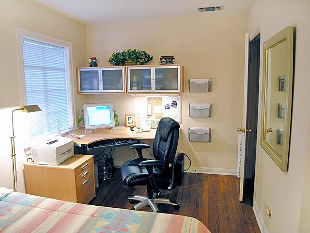 1000 ideas about bedroom office combo on pinterest for Bedroom office combo