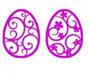 Easter Eggs Flower Design