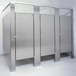 #steel toilet partitions by www.lockersnmore.com - 3 day worldwide delivery #toilet #stainless #steel