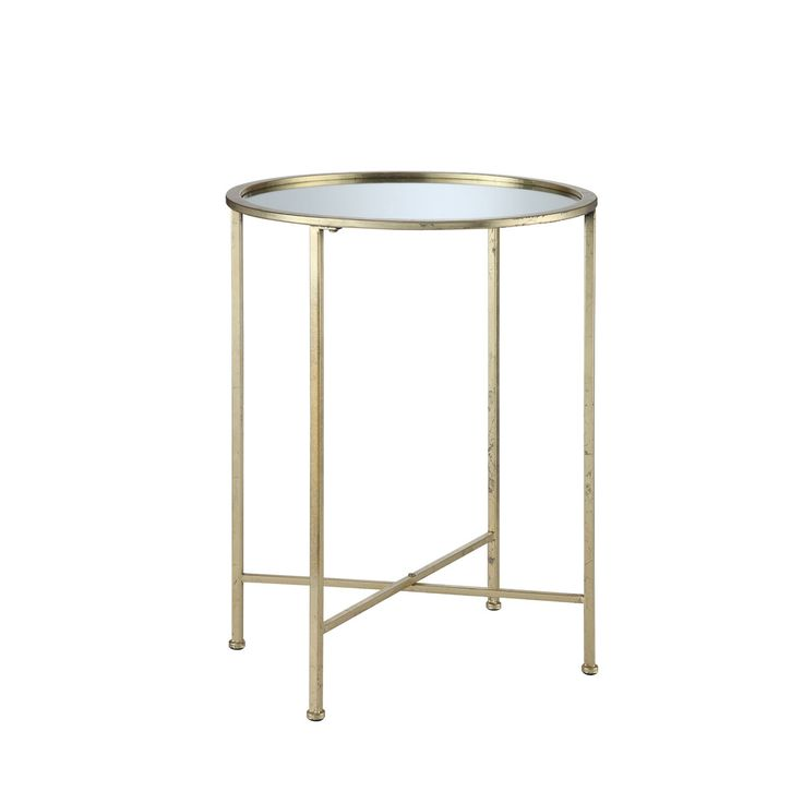 convenience concepts gold coast gold end table