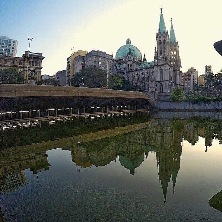 Catedral da Sé by @godylla #saopaulocity #EuVivoSP #catedraldase