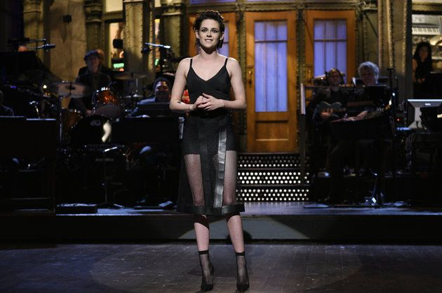 Kristen Stewart Rocked Spanx As A Dress On 'SNL' -- And It Looked Great