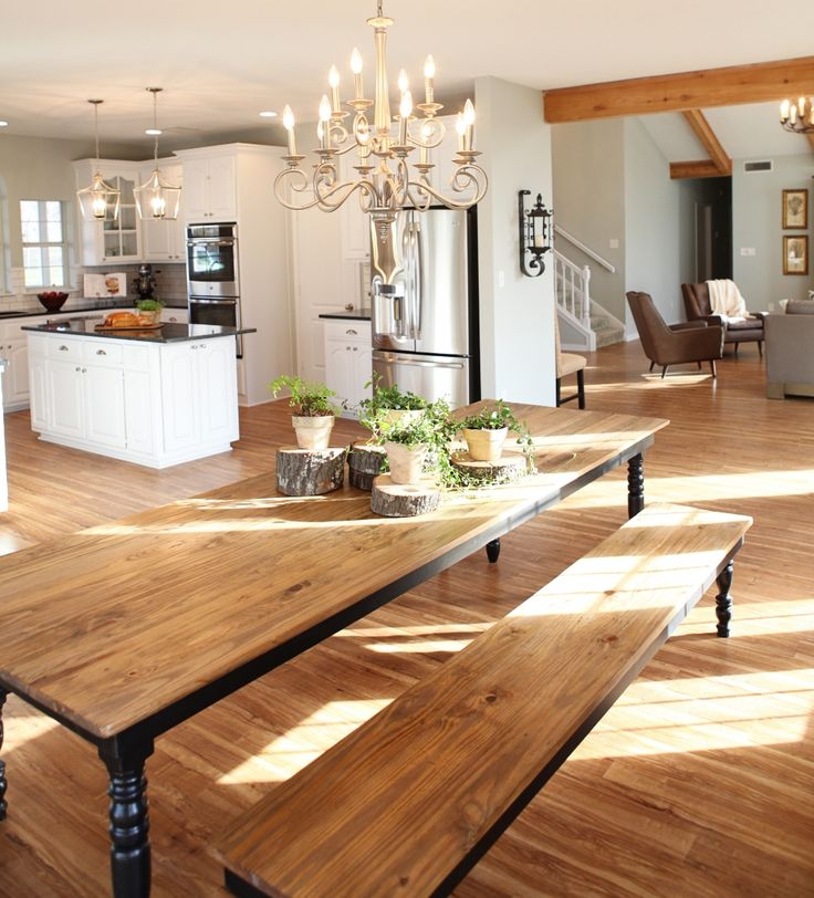 Harp Design Co. uses reclaimed wood to custom build beautiful furniture in Waco, Texas!