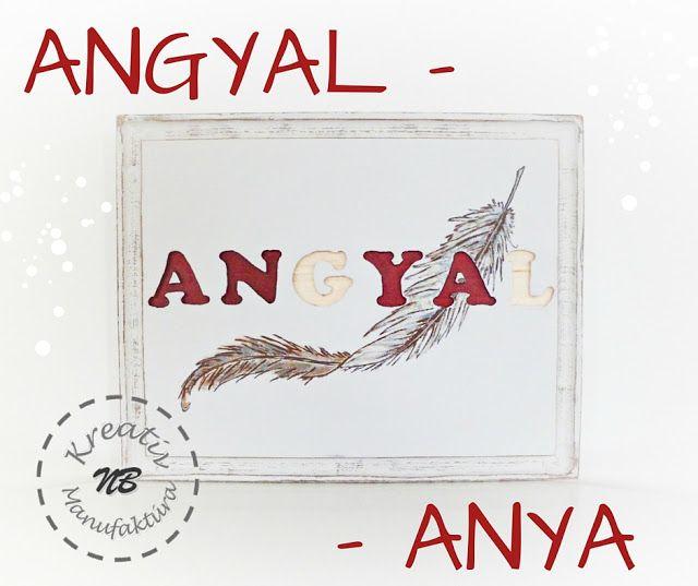 NB Kreatív Manufaktúra: ANgYAl-Anya karácsonyi fa kép