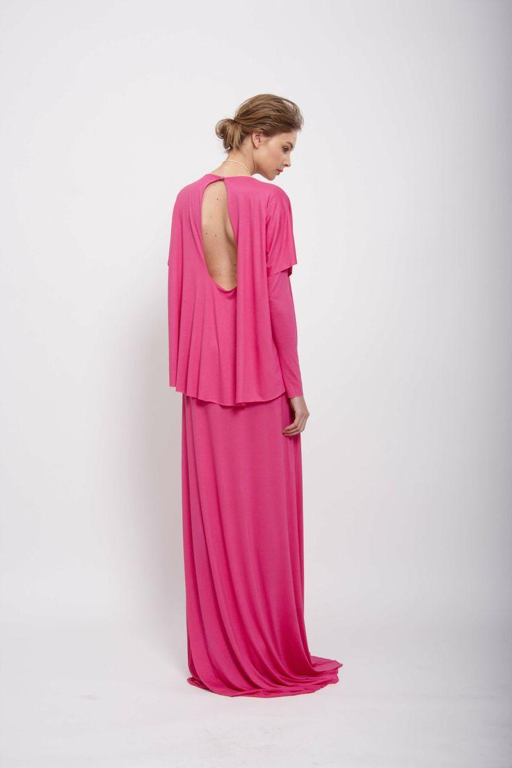 """Pink """"DOUBLE"""" dress  Design: Lucie Kutálková, LEEDA store"""