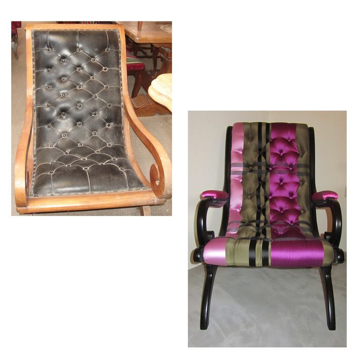 Restored Armachair