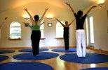 big round yogamat <3 via mandalayogamat.com