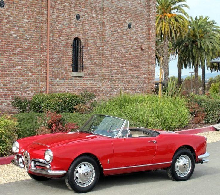 '65 Alfa Romeo : Spider GIULIA