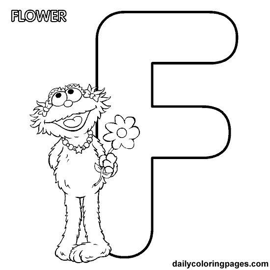 38 best mewarnai huruf images on Pinterest Alphabet coloring