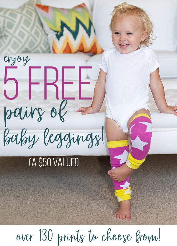 Affiliate Get 5 Free Pairs Of Baby Leg Warmers From Baby Leggings