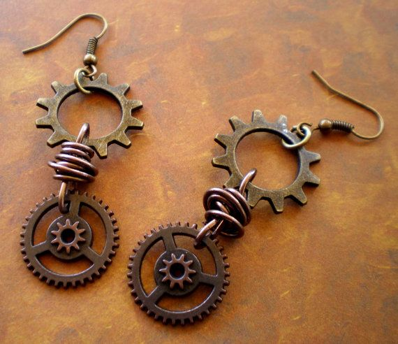 Best 25+ Steampunk earrings ideas on Pinterest