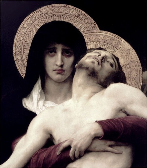The Sadness in Our Mother Mary's Eyes-The Loss of Her Precious Son and The Savior of The World - JESUS