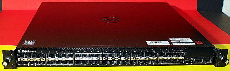 Dell FWYM4 Powerconnect N4064F 48-Port 10GB SFP Switch w/ Dual Power and Rails